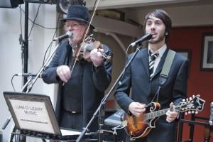 Liam O'Leary and Chris O'Leary as O'Fiddleary